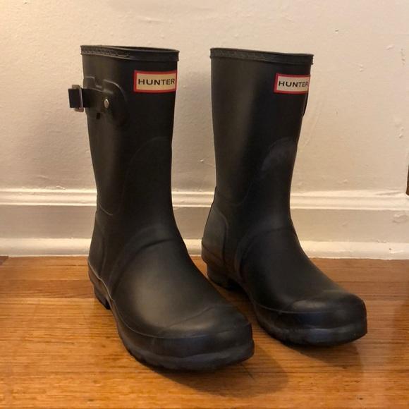 Hunter Shoes - Women s Original Short Hunter Boots Size 7 fa413824e5